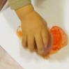 Рисование для малышей. Яблочный штамп