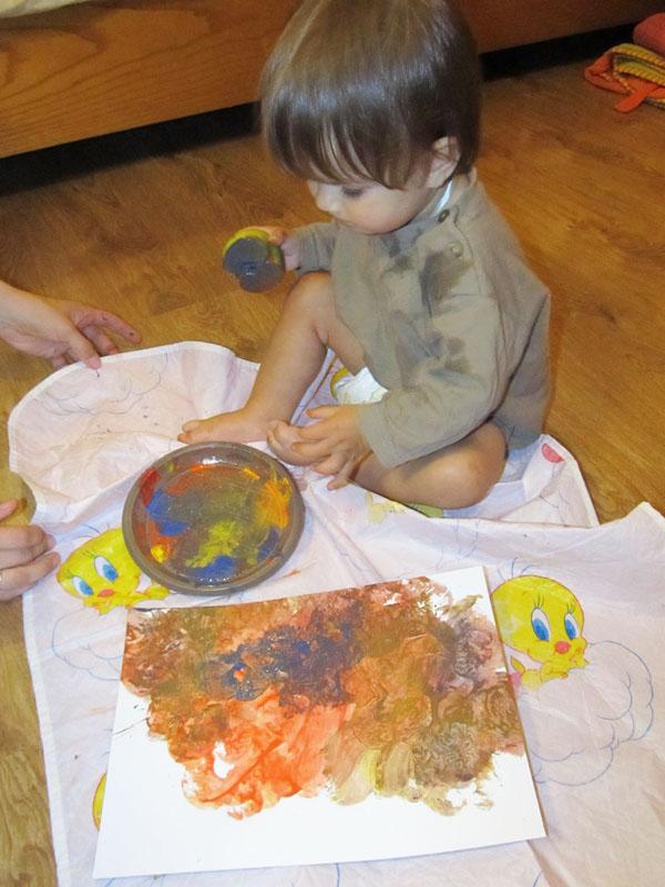 Тыква рисуем с детьми