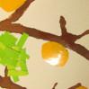 """Детская поделка """"Дутое дерево"""""""