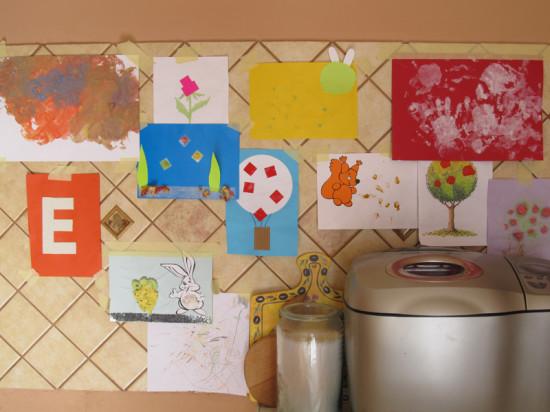 домашняя выставка поделок и рисунков