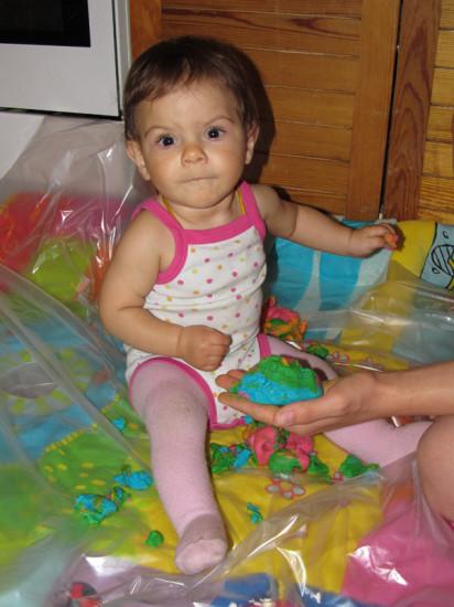 рисование и лепка с малышом