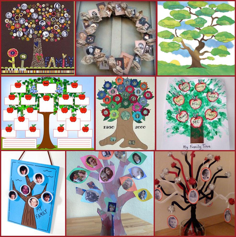 Семейная дерево своими руками