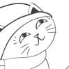 """Детская раскраска """"Кошка"""""""
