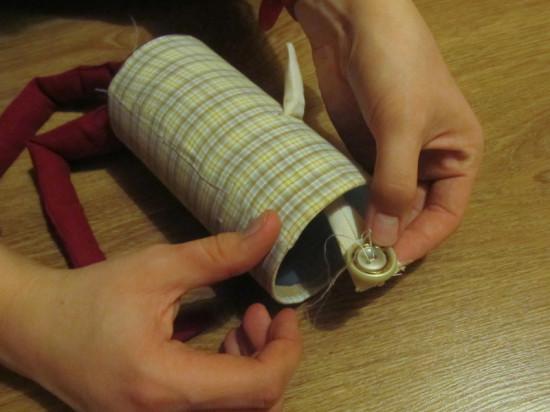 рукодельная игрушка для малыша