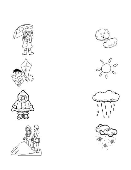 подготовка руки к письму, погода