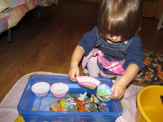 Детская развивающая игрушка своими руками