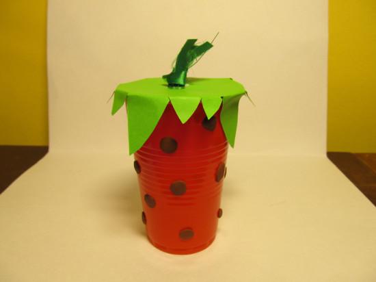 Поделка для детей ягоды 24