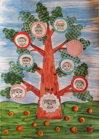 семейное дерево, дерево рода