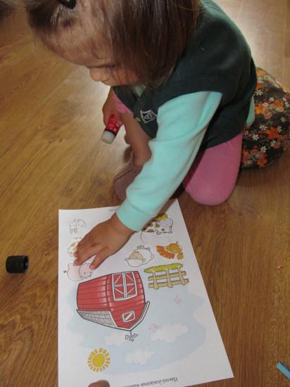 развивающие занятия для малышей, тематическое занятие, домашние животные