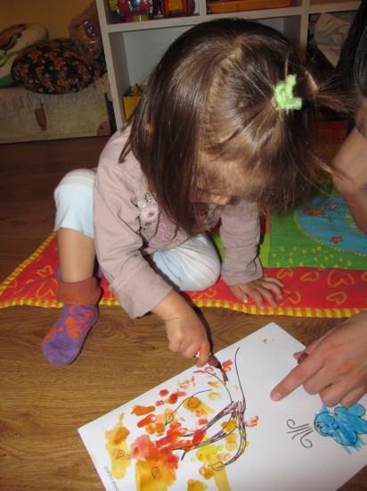 Детская поделка на тему осени