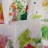 Новогодние открытки своими руками вместе с малышом