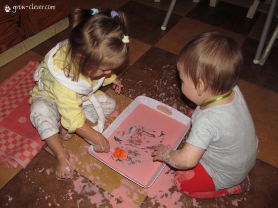 рисование с малышами