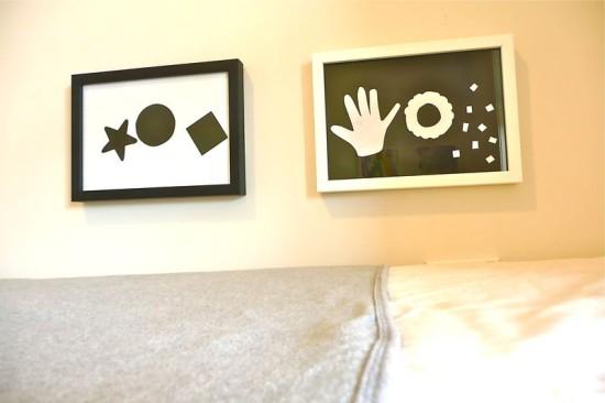 Монтессори, картины для детской комнаты, черно-белые изобржения