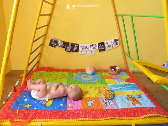 Монтессори, как обустроить детскую комнату, Монтессори мобили, чёрно-белые изображения