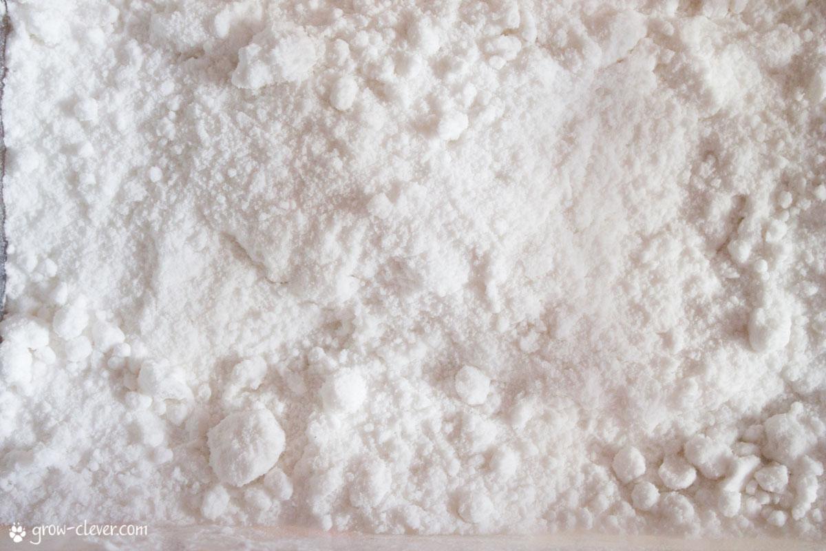 Искусственный снег своими руками из соды и пены для бритья 55