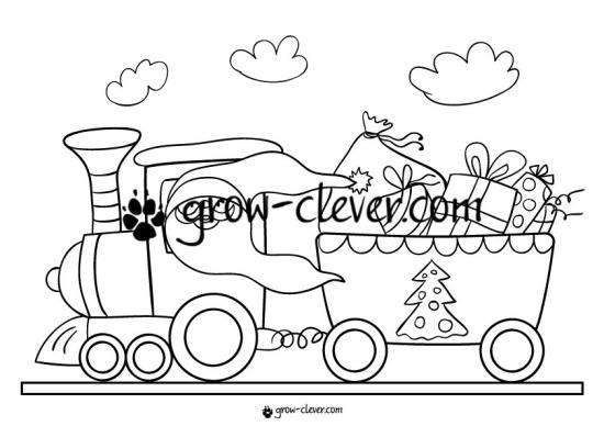 Раскраска Дед мороз, Санта, игры для детей на тему зима, новый год, рождество, развивающие задания, шаблоны для поделок