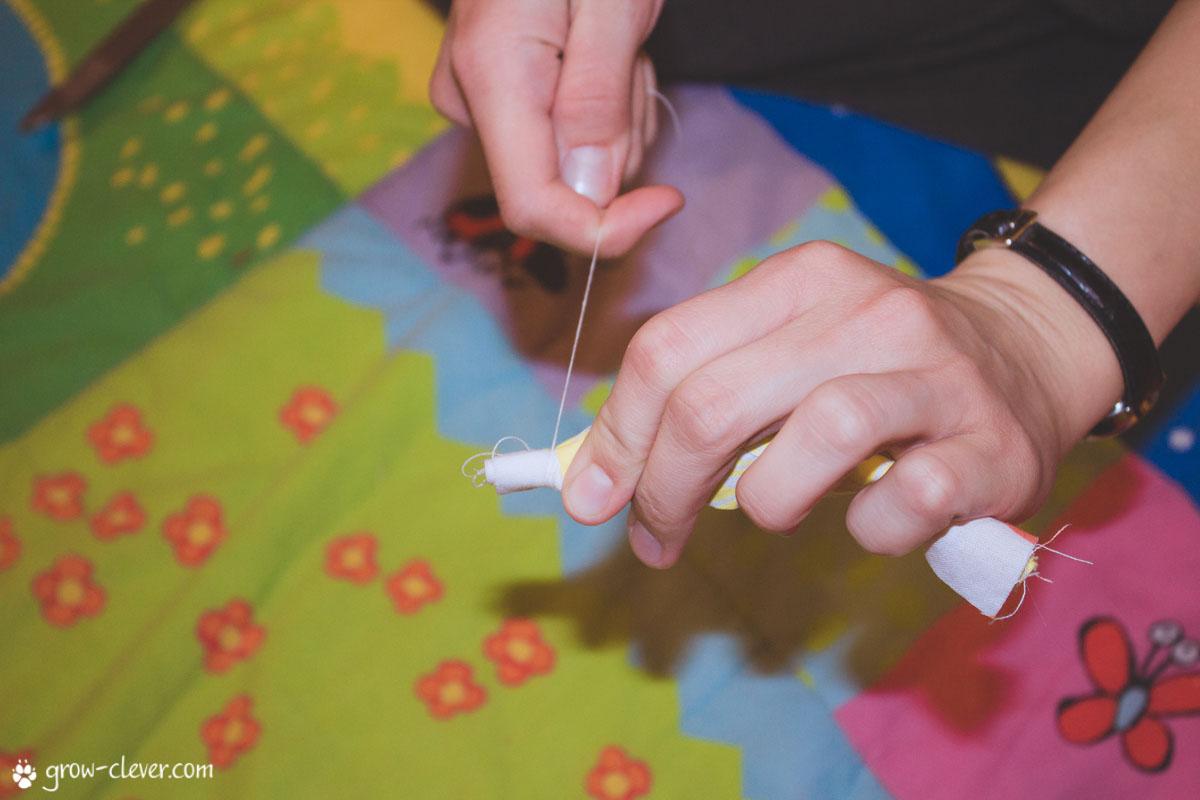 Оригами снежинка своими руками