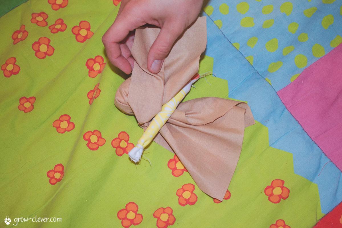 Сделать куклу мотанку из ткани