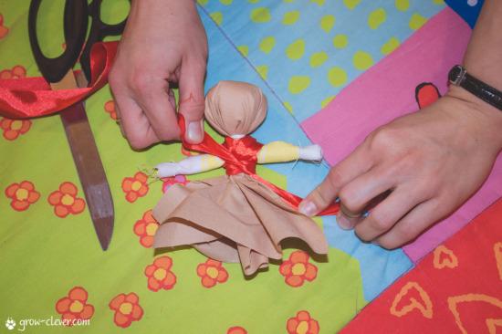 Традиционная славянская кукла-мотанка своими руками мастер-класс