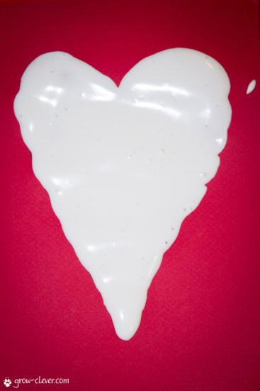 рецепт объёмной краски из пены для бритья и клея ПВА мастер класс