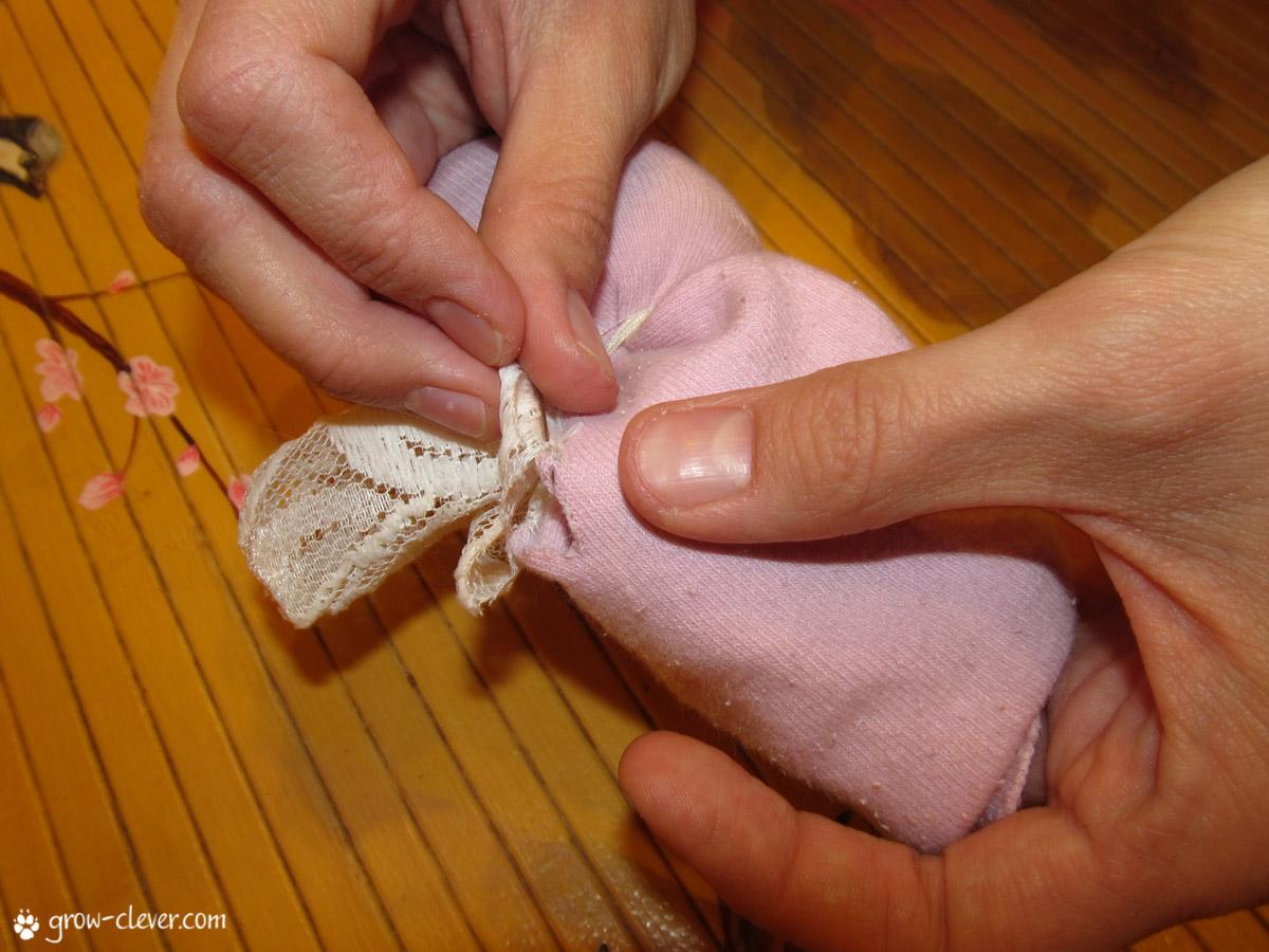 49Ангел из ткани своими руками мастер класс