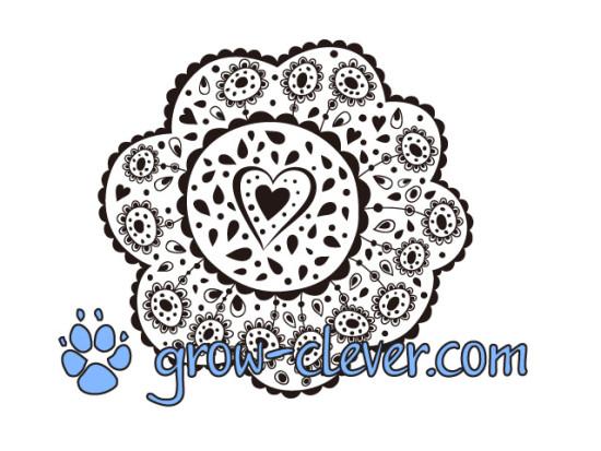 Раскраска цветок для детей, картинка весна, раскраски для взрослых