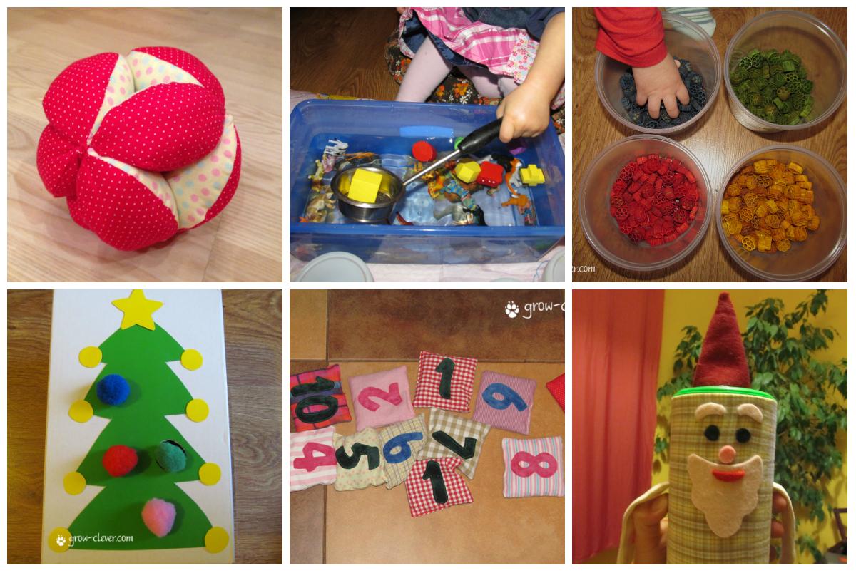Развивающие игрушки своими руками для детей до года 73