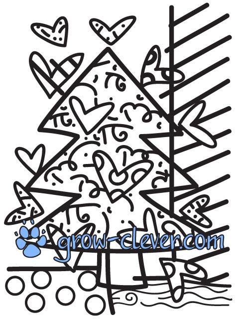 Ромеро Бритто Раскраски | Расти умным!