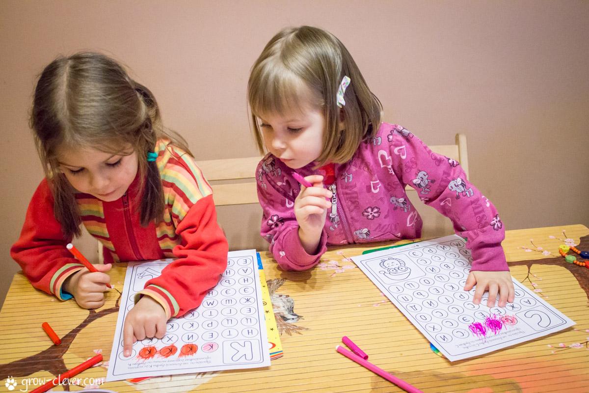 Учить буквы детей 6 лет играть