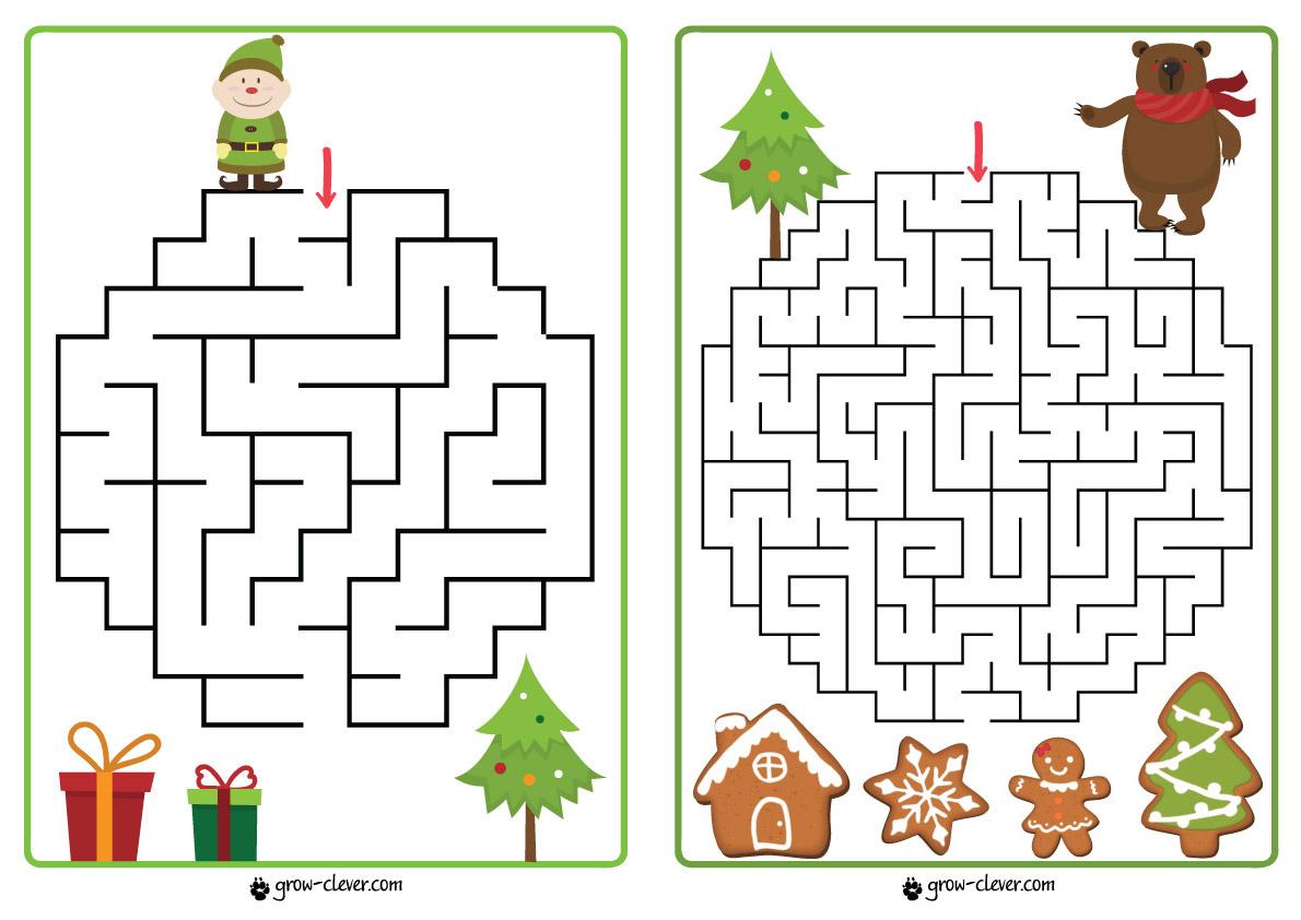 10 лабиринтов для детей скачать | Расти умным!