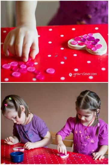 детские поделки ко дня святого валентина, украшаем дом ко дню святоко валентина поделками, подарки своими руками