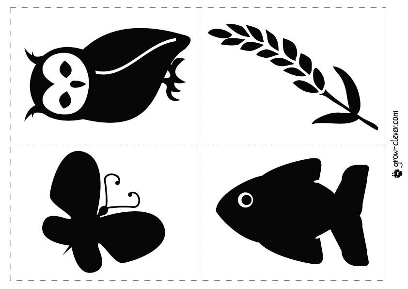 Чёрно-белые рисунки цветов для распечатки
