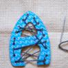 Шнуровки-буквы для детей