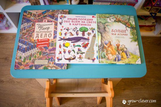 Книги для ребёнка в дорогу, в машину, в путь