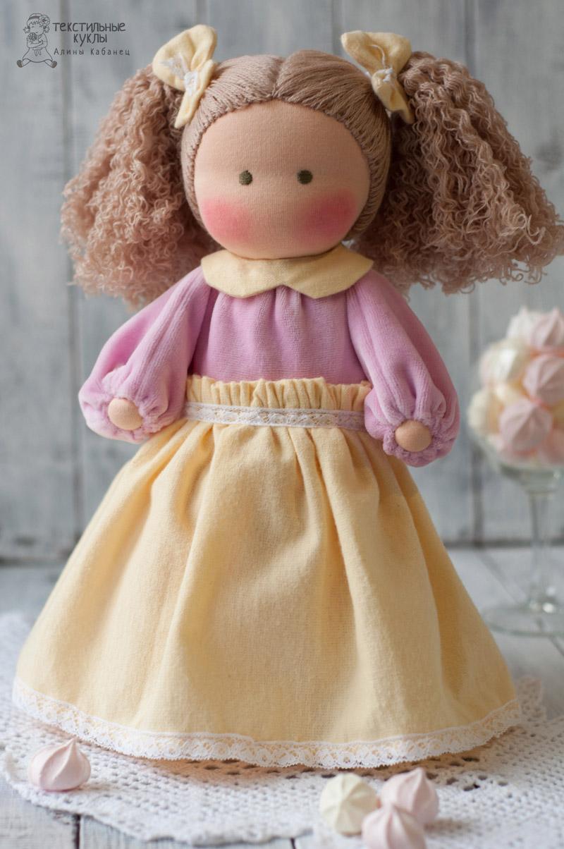 Кукла дочке своими руками