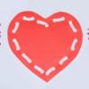 Шнуровки для детей ко дню Валентина