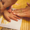 Рисование ладошками алфавита